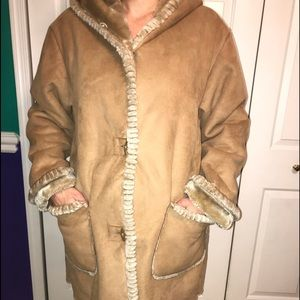 big fuzzy coat